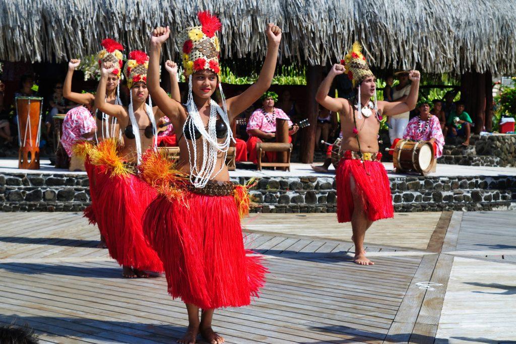 Maori dancing at Raiatea. Picture: Alessandro Caproni/flikr