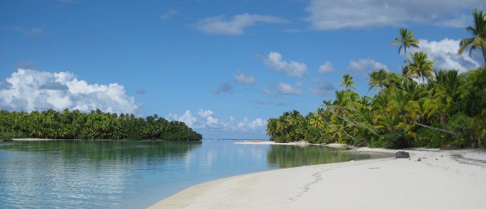 Aitutaki has been called the world's most beautiful island. Picture: Allie Towers Rice